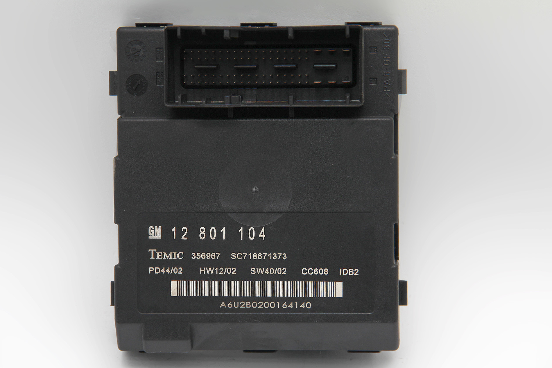 hight resolution of  factory saab 9 3 sedan 03 06 under dash interior fuse box 12801104