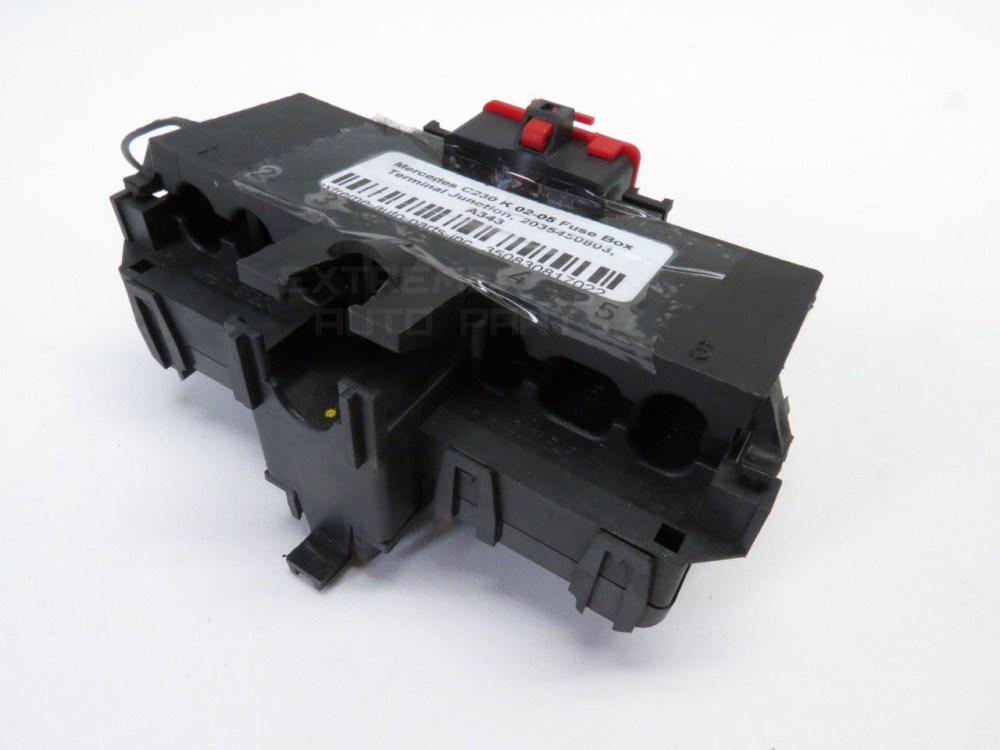 medium resolution of  2035450803 mercedes c230 k 02 05 fuse box terminal junction 2035450803