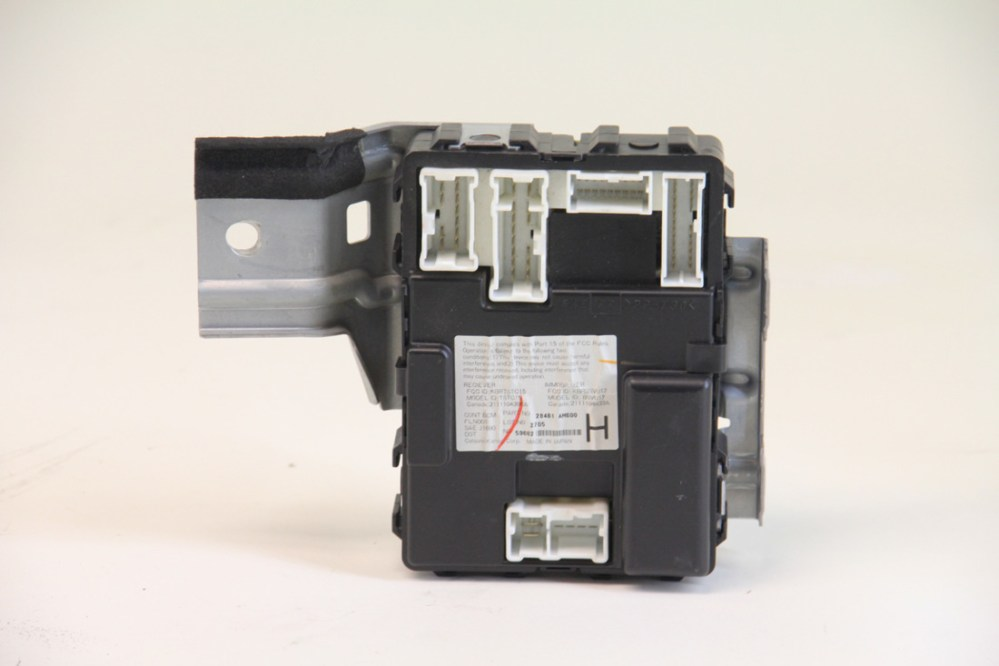 medium resolution of infiniti g35 sedan 2003 2004 under dash fuse box 284b1 am600