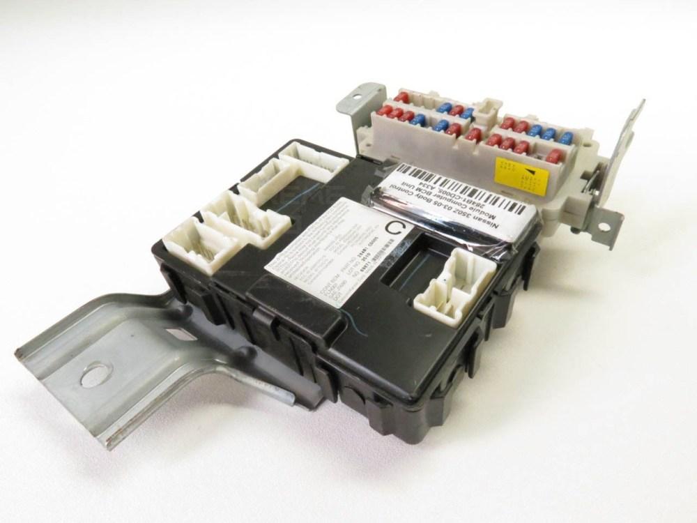medium resolution of  nissan 350z 05 under dash bcm body control fuse box relay 284b1 ce800