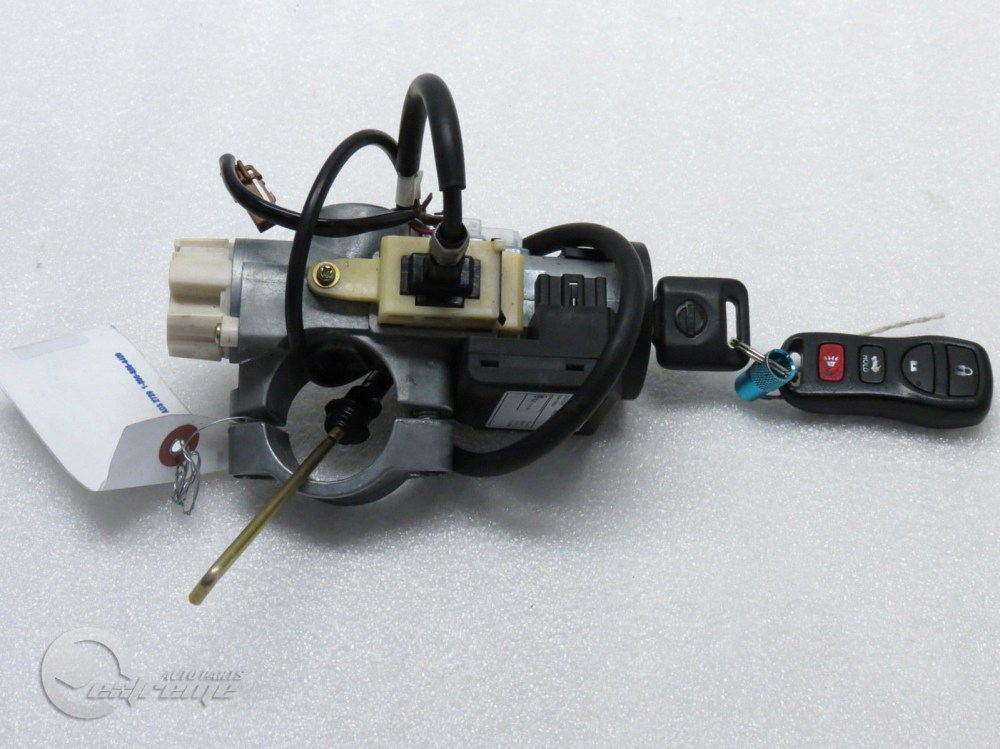 medium resolution of  nissan 350z 28590 c9965 ignition switch immobilizer key remote at