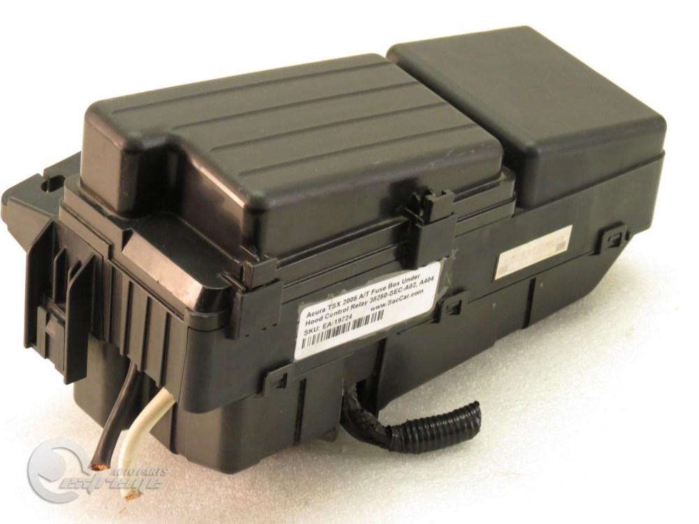 medium resolution of acura tsx 2005 a t fuse box under hood control relay 38250