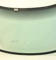 honda accord coupe 2dr 98 02 back windshield rear window glass 73211 s82 [ 1280 x 853 Pixel ]