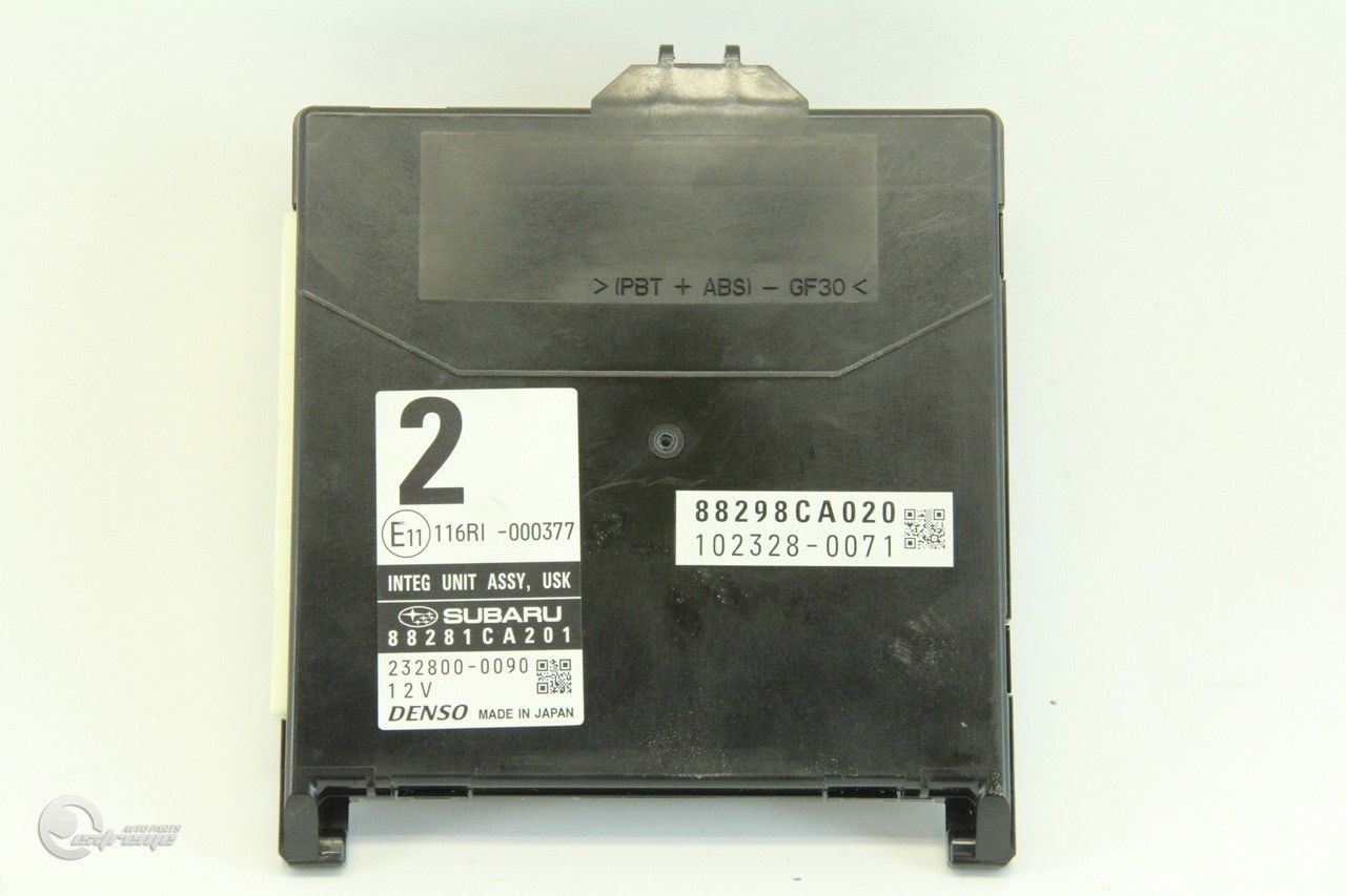 hight resolution of  scion fr s integrate unit interior under dash relay fuse box 82201ca000