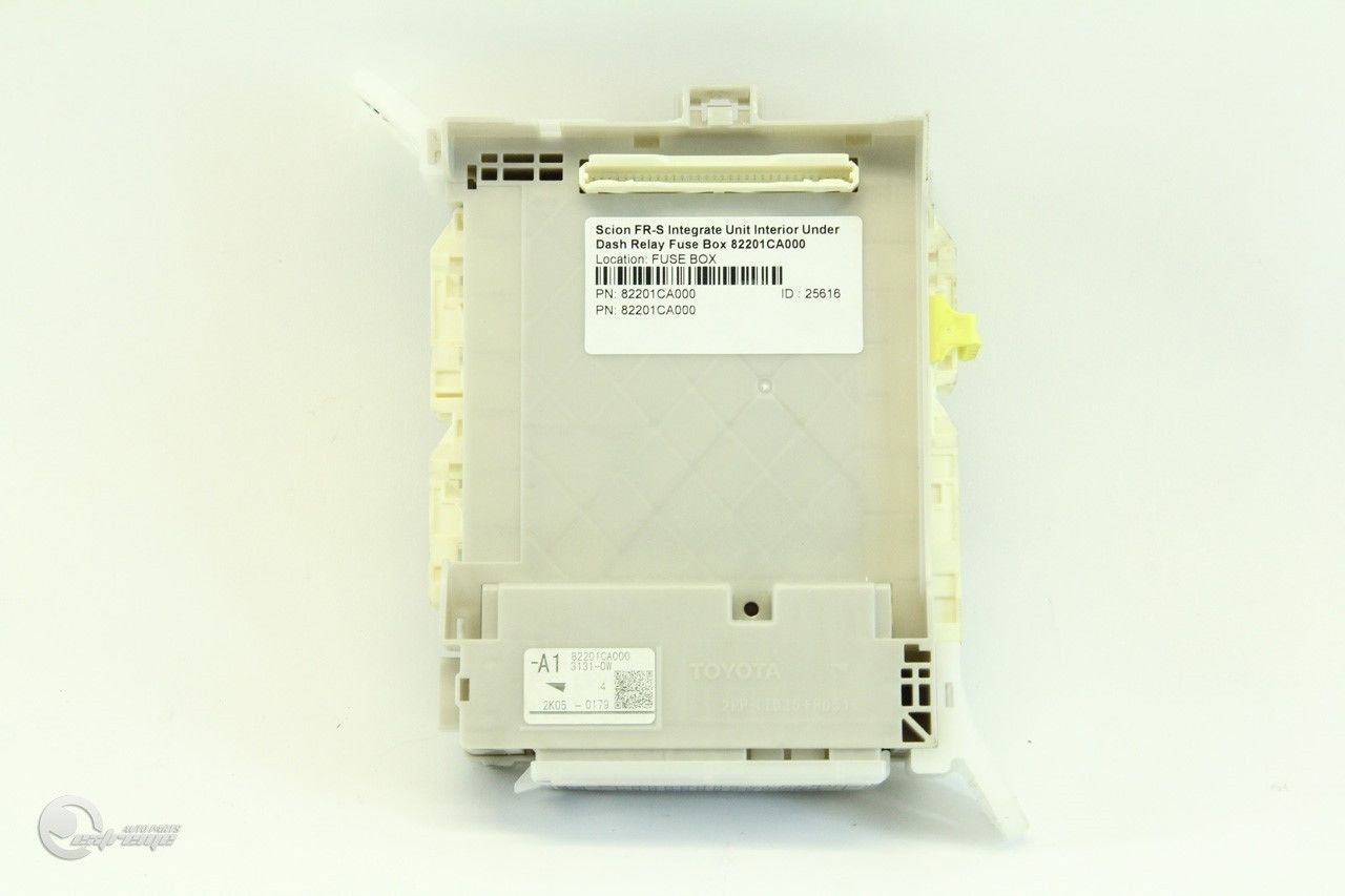 hight resolution of scion fr s integrate unit interior under dash relay fuse box 82201ca000 extreme auto parts