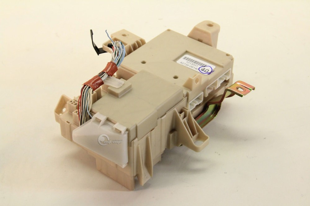 medium resolution of toyota camry 82730 06140 relay fuse box interior under dash 03