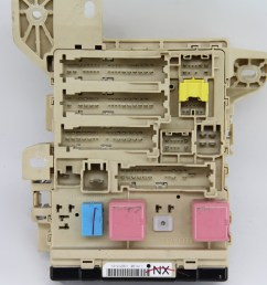 toyota camry hybrid 10 11 relay fuse box interior under dash 82730 06730 [ 1900 x 1266 Pixel ]