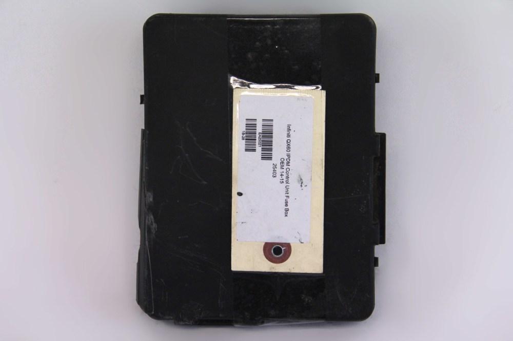 medium resolution of infiniti qx60 ipdm control unit interior fuse box oem 14 15 2014