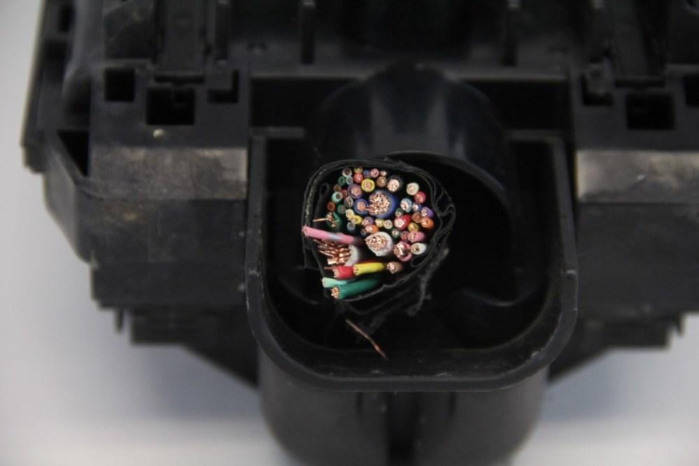 medium resolution of infiniti fx35 engine hood fuse box exterior black oem 09 12