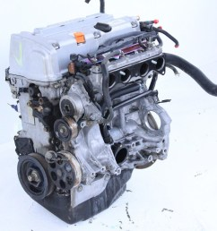 honda accord 03 07 engine motor long block assembly 2 4l 4 [ 1280 x 853 Pixel ]