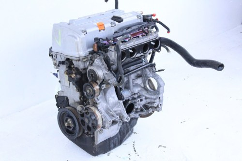 small resolution of honda accord 03 07 engine motor long block assembly 2 4l 4
