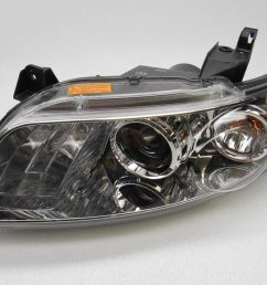 details about brand new oem infiniti fx35 fx45 left side hid headlight with bulb [ 1600 x 1200 Pixel ]