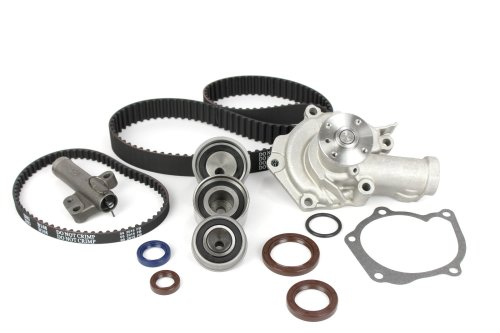 small resolution of mitsubishi timing belt kit water pump 99 to 04 eclipse galant 2 4 liter sohc
