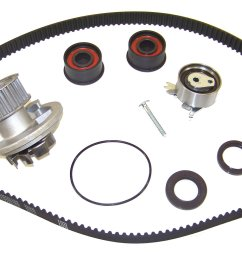 2005 to 2008 suzuki reno ex lx s timing belt kit with water pump 2 0 [ 1600 x 991 Pixel ]