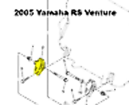 Yamaha Nytro Rage Vector Snowmobile Front MAG Side Motor