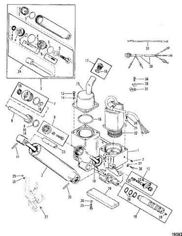NIB OEM Mercury100-105-115-125-135-150-175HP Repair Kit