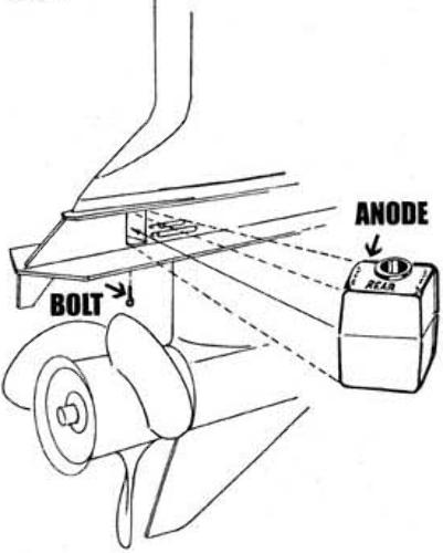Johnson Evinrude 60-70-75-88-90-100-112-115-120 Anode