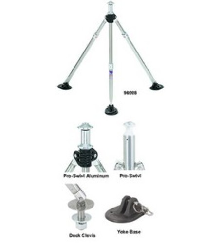 Attwood Swivl-Eze Adjustable Height 28-33 Ski Pylon