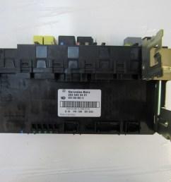 mercedes w203 c230 c320 c240 module sam fuse box rear 2035453401 s auto parts [ 1600 x 1200 Pixel ]