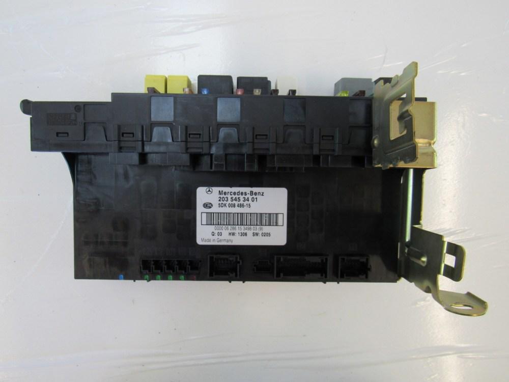 medium resolution of mercedes w203 c230 c320 c240 module sam fuse box rear 2035453401 s auto parts