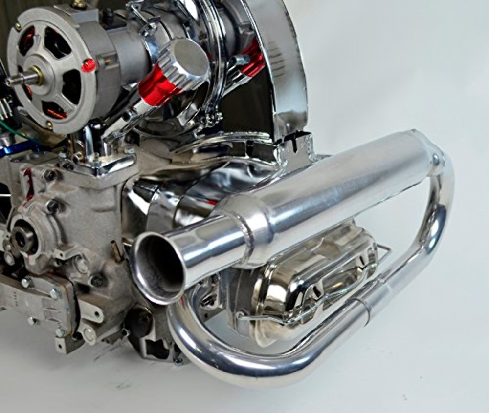 hight resolution of  dual exhaust system ceramic dune buggy vw baja bug