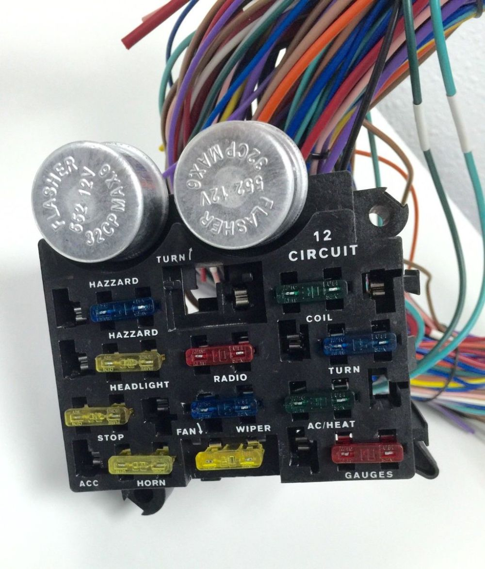 medium resolution of 12 circuit universal wiring harness wiring library rh 53 skriptoase de 78 chevy truck wiring diagram