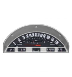 classic instruments 1956 ford f 100 truck dash gauge package black complete [ 1000 x 1000 Pixel ]