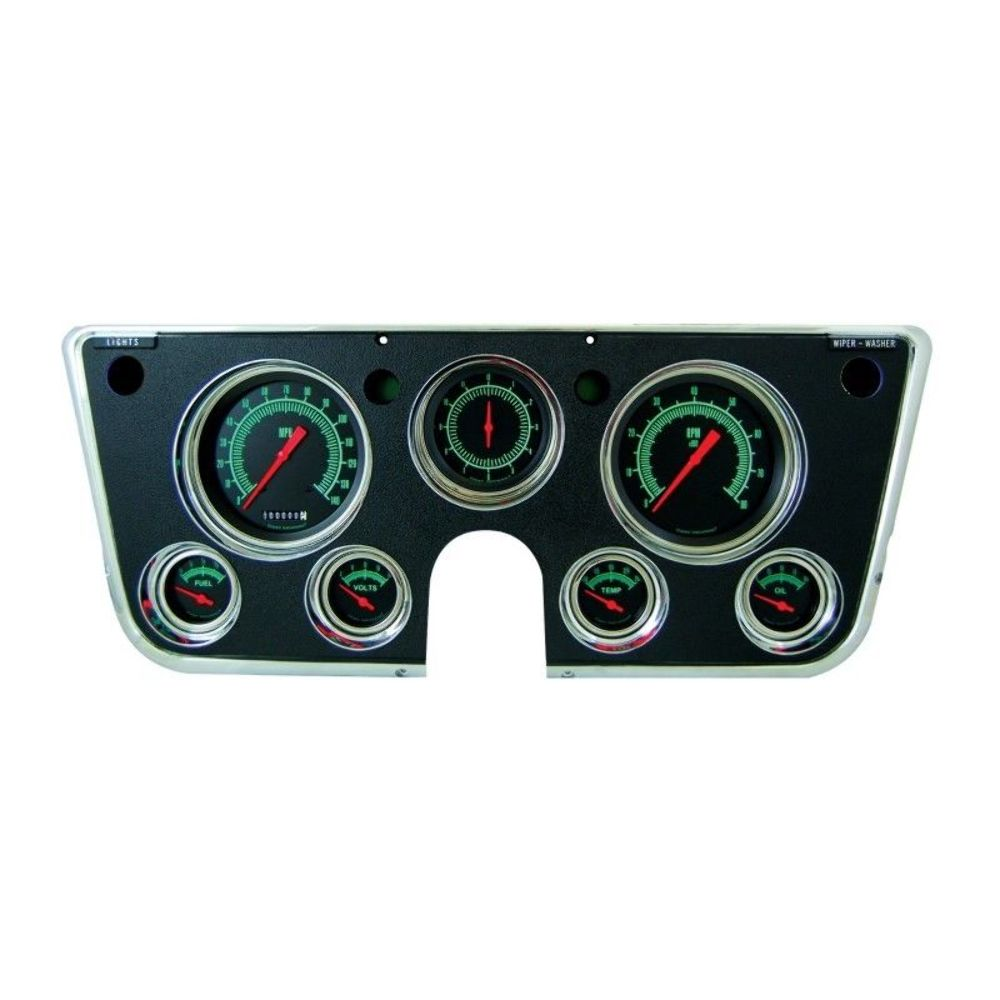 hight resolution of classic instruments 67 72 chevy truck package black w bezel gmc chevrolet