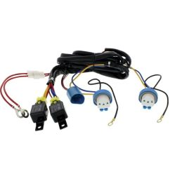 upi 34265 9007 headlight relay harness kit [ 1000 x 1000 Pixel ]