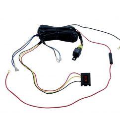 upi 34266 fog lamp wiring harness kit [ 1000 x 1000 Pixel ]