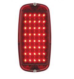 1960 66 chevy pickup fleetside tail light assembly red led red rh ebay com [ 1000 x 1000 Pixel ]