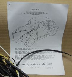1967 all karmann ghia vw complete wiring works wire harness kit usa [ 1600 x 1200 Pixel ]
