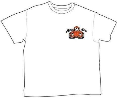 Empi T-Shirt VW Bug, Auto-Haus Racing Team 100% Cotton XX