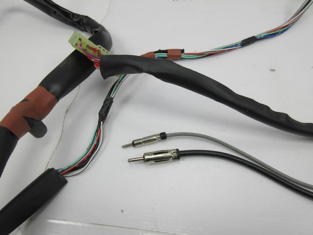 medium resolution of  1988 toyota supra mk3 1042 rear interior cabin trunk wire wiring harness