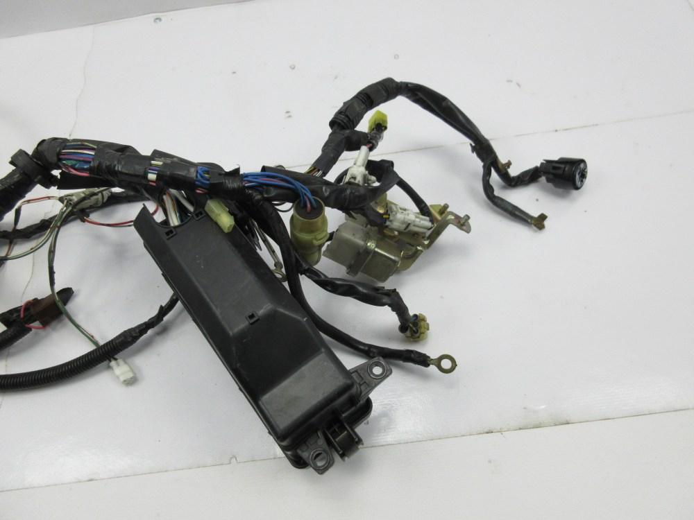 medium resolution of  1988 toyota supra mk3 1042 engine bay wire wiring harness relay box headlights