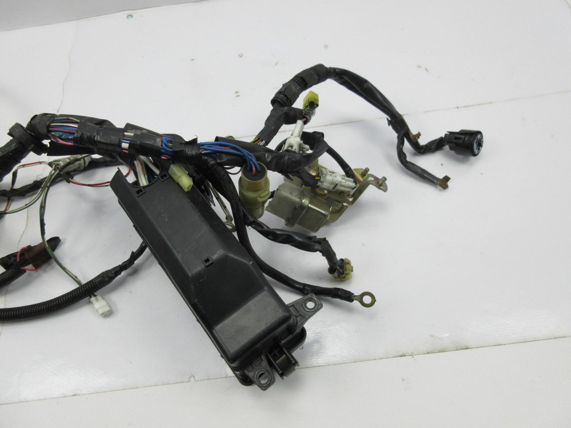 hight resolution of  1988 toyota supra mk3 1042 engine bay wire wiring harness relay box headlights