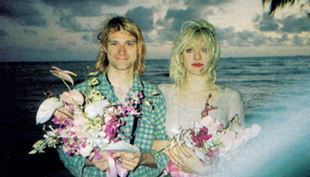 Mariage de Kurt Cobain et Courtney Love