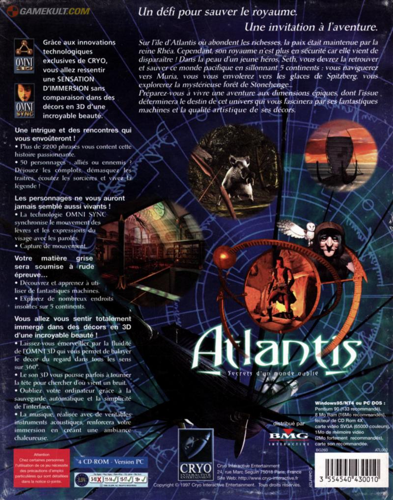 Atlantis : Secrets D'un Monde Oublié : atlantis, secrets, monde, oublié, Atlantis, Secrets, Monde, Oublié, Actualités,, Test,, Vidéos, Gamekult