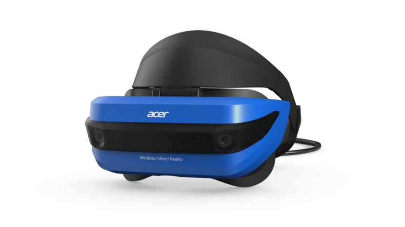 At 350 grams, Acer's helmet is one of the lightest in the range