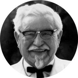 Famosi fallimenti colonnello Sanders