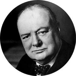 Famoso fallimento di Winston Churchill