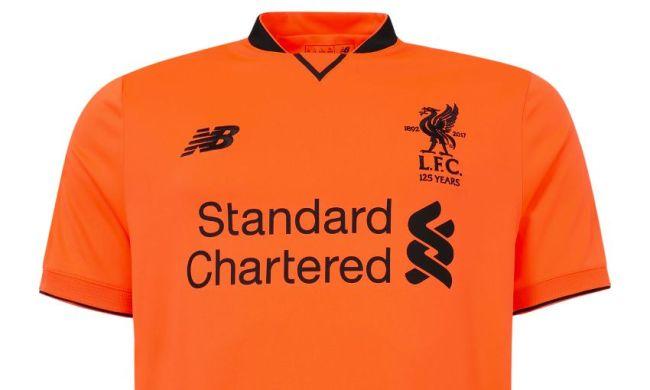 Tercera camiseta Liverpool 17 18