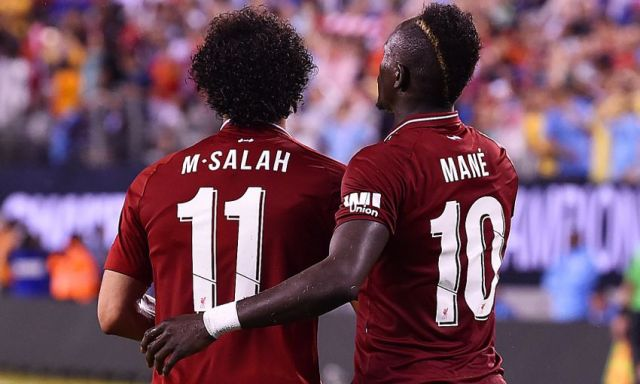 Image result for Salah and Mane