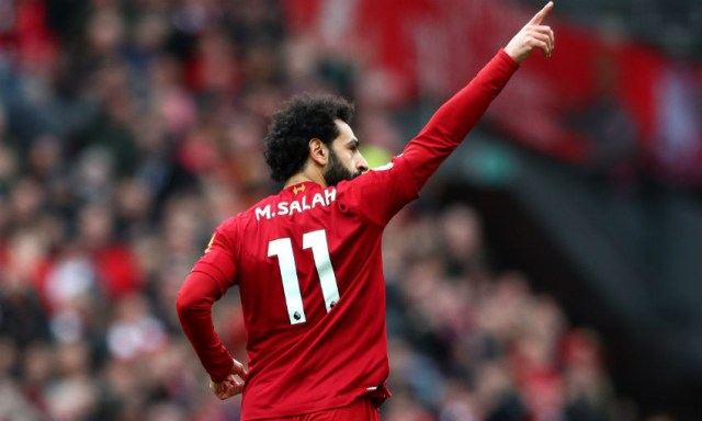 One day to go: Can Mohamed Salah bring up his LFC century ...