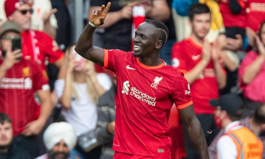 Sadio Mane in Liverpool