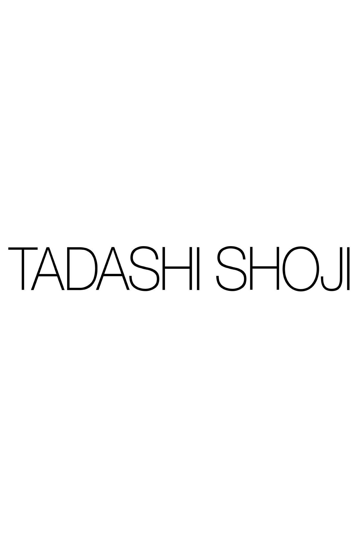 Blouson Waist Paillette Embroidered Lace Gown  Tadashi Shoji