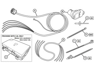 OEM 2020 Jeep Grand Cherokee Wiring Harness