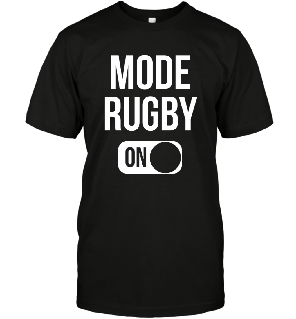Mode Rugby On T-Shirt