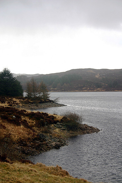 A loch somewhere... (backblip)
