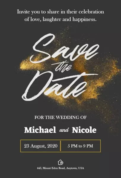 save the date templates photoadking